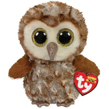 TY Beanie Boo's Knuffel Uil Percy 15 cm