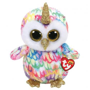 TY Beanie Boo's Knuffel Uil Enchanted 24 cm